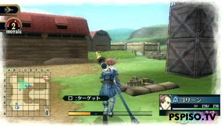 Valkyria Chronicles 2 - JPN - psp,  игры,  программы, игры для psp.