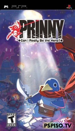 Prinny can i really be the hero UNDUB - psp gta,  игры для psp скачать, игры нa psp, psp 3008.
