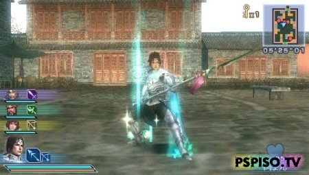 Dynasty Warriors: Strikeforce 2 2nd DEMO - игры бесплатно для psp,  видео, игры нa psp, psp 3008.