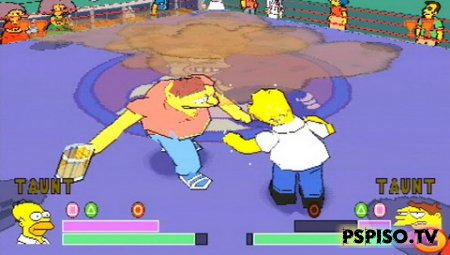 The Simpsons Wrestling [PSX]