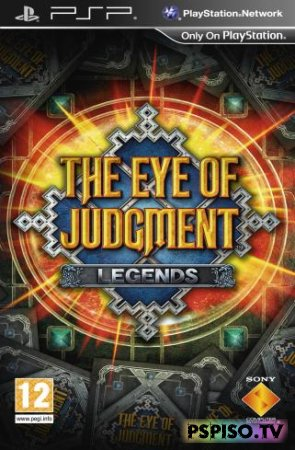 Eye of Judgment Legends DEMO USA - прошивка psp, psp gta,  одним файлом, psp.