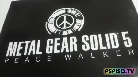 Metal Gear Solid Peace Walker планировался как MGS5 - игры для psp, скачать psp, игры нa psp, темы для psp.