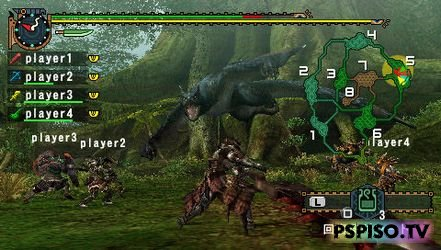 �������� Monster Hunter Freedom Unite ��������� 4 ���. �����