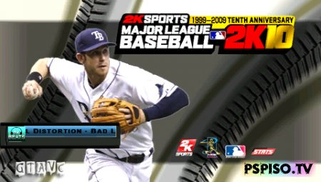 Major League Baseball 2K10 - USA - обои, psp 3008,  одним файлом, psp.
