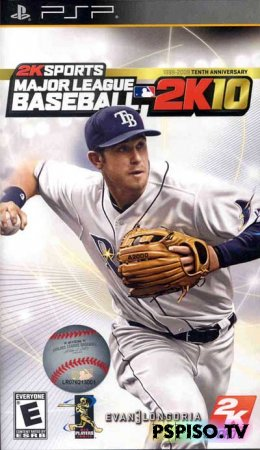 Major League Baseball 2K10 - USA - прошивки,  бесплатно, psp gta,  аниме.