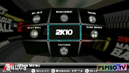 Major League Baseball 2K10 - USA - ������� psp,  ��������,  ����� ������, ���� �a psp.