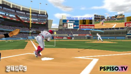 Major League Baseball 2K10 - USA - обои, прошивки для psp, psp 3008, psp.