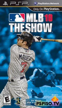 MLB 10: The Show ENG FULL - аниме, игры нa psp,  игры,  видео.
