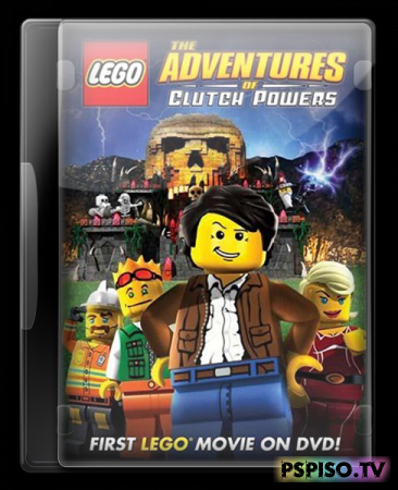 ���� - ����������� ������ ������� / Lego - The Adventures of Clutch Powers (2010) [DVDRip]