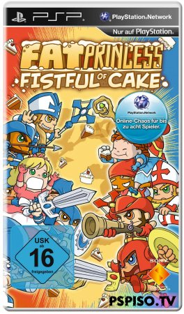 Fat Princess Fistful of Cake USA-ASIA