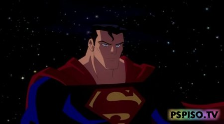 ���� ��������������: ������ ���� ����� / Justice League: Crisis on Two Earths (2010) HDRip - ����,  ���������, psp, ������� psp.