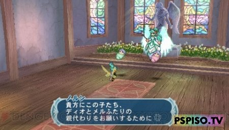Новые скриншоты Tales of Phantasia Narikiri Dungeon X