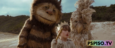 ���, ��� ������ ����� / Where the Wild Things Are (2009)  HDRip - ����� ������, ���� ��� psp �������, �������� psp, psp 3008.