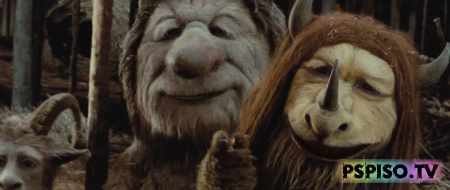 ���, ��� ������ ����� / Where the Wild Things Are (2009)  HDRip - ��� �����������, ���� �a psp, ���� ��� psp,  �������.