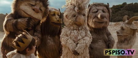 ���, ��� ������ ����� / Where the Wild Things Are (2009)  HDRip - ����,  ���������,  �����,  �������.