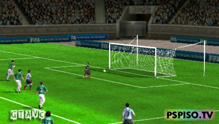 2010 FIFA WORLD CUP: SOUTH AFRICA - USA (Full) - psp gta,  одним файлом, psp,  темы.