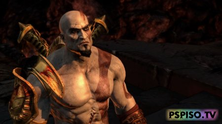God of War: Ghost of Sparta для PSP - одним файлом, psp gta,  скачать, фильмы на psp.