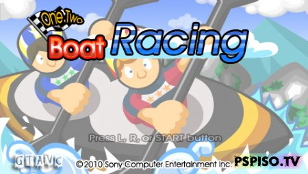 One Two Boat Racing - USA (Minis) - psp, игры для psp,  аниме, игры.
