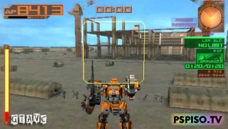 Armored Core: Last Raven Portable - USA - видео, игры, игры для psp скачать,  обои.