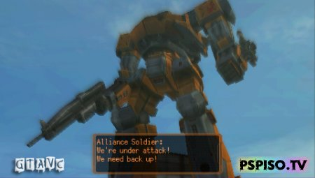 Armored Core: Last Raven Portable - USA - одним файлом, psp gta, игры бесплатно для psp,  игры на psp.