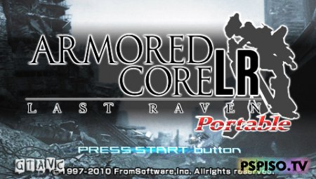 Armored Core: Last Raven Portable - USA - игры,  видео,  игры для psp, фильмы на psp.