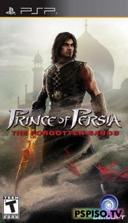 Prince of Persia: The Forgotten Sand RUS - игры нa psp, psp бесплатно,  игры на psp, игры.