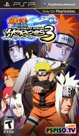 Naruto Shippuden: Ultimate Ninja Heroes 3 - USA (FULL)