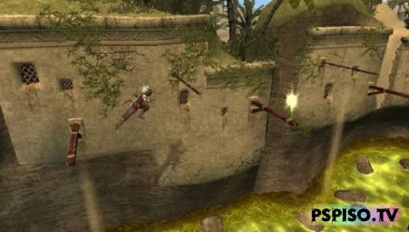 Prince of Persia: The Forgotten Sands - RUS MEGA - RIP - psp gta, psp, игры для psp скачать,  игры на psp.
