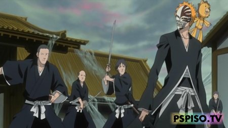 Блич: Исчезнуть во тьме / Bleach: Fade to Black - I Call Your Name (2009) DVDRip [R.G. Bomba releases group]