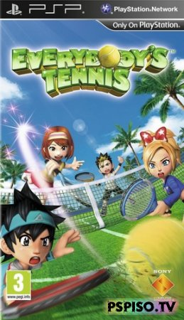 Everybody's Tennis EURUSA - фильмы на psp,  игры на psp,  прошивки,  видео.