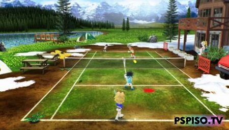 Everybody's Tennis EURUSA - игры для psp скачать, psp,  обои,  psp.