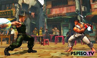 PSP не потянет Super Street Fighter IV