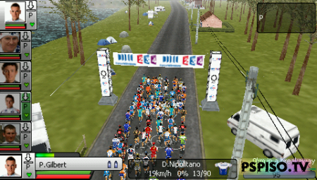 Pro Cycling Manager Season 2010 EUR MULTI6 - ����� ������, ���� ��� psp �������, ������� psp, ���� �a psp.