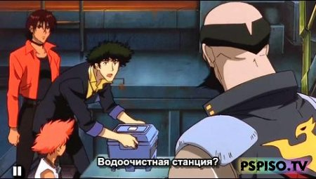 ������ �����: ������ XX / Cowboy Bebop: Session XX / 1998 + ������ �����: ����������� �� ����� / Cowboy Bebop: Knockin' on Heaven's door / 2001 - ���� ��� psp,  ����� ������,  �����,  ���� �� psp.