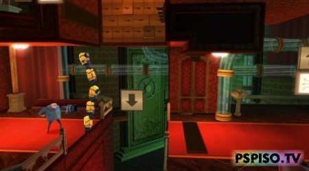 Despicable Me The Game/ Гадкий Я: Игра USA (2010) - игры на psp,  аниме,  видео, psp gta.