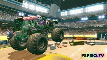 Анонсирована Monster Jam: Path of Destruction