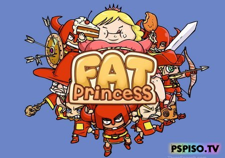 Fat Princess Fistful of Cake OST - аниме, темы для psp, psp, игры для psp.