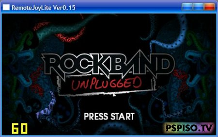 Играем в Rock Band Unplugged на барабанах от Rock Band 2!