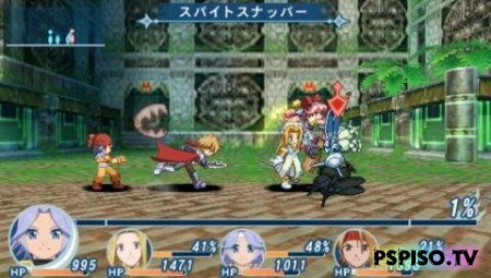 Tales of Phantasia: Narikiri Dungeon X - JPN