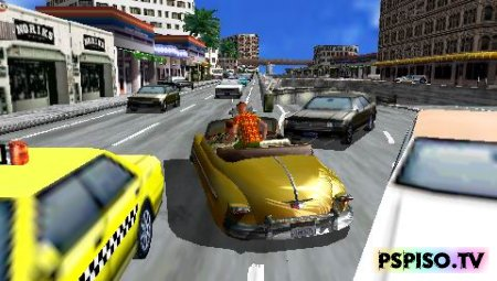 Crazy Taxi: Fare Wars 2.01 / NEW VERSION - USA - прошивки для psp, темы для psp, фильмы на psp, psp бесплатно.