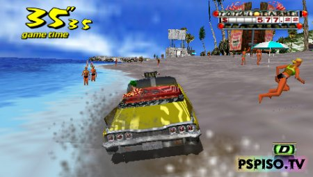 Crazy Taxi: Fare Wars 2.01 / NEW VERSION - USA - ��� �����������, ���������, ���� ��� psp �������, ����� ������.