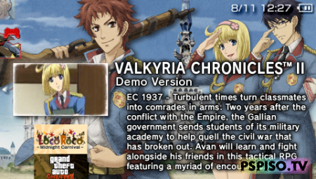 Valkyria Chronicles 2 DEMO - USA