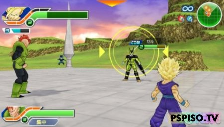 Dragon Ball Z: Tenkaichi Tag Team - DEMO - фильмы на psp, psp, скачать игры для psp, одним файлом.