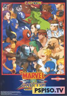 MARVEL VS CAPCOM - Clash of the Super HeroesMARVEL VS CAPCOM - Clash of the Super Heroes - скачать игры для psp, прошивка psp, видео, psp 3008.