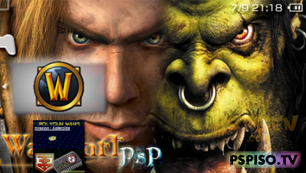 Warcraft PSP Online BETA v1.5
