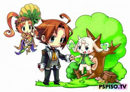 ��������� Blue Roses: The Fairy and the Blue Eyed Warriors �� PSP