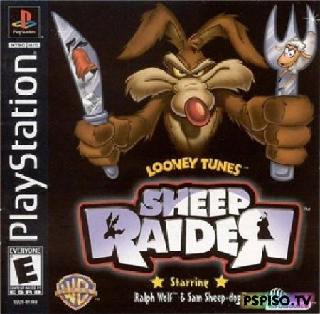 Looney Tunes Sheep Raider - игры нa psp, игры для psp скачать, psp gta,  обои.