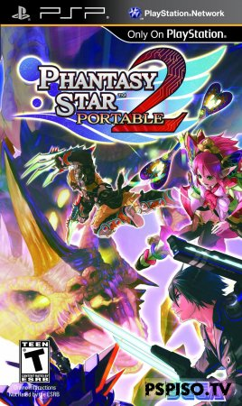 Phantasy Star Portable 2 - EUR