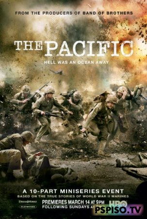 Тихий океан / The Pacific (2010 / HDRip)