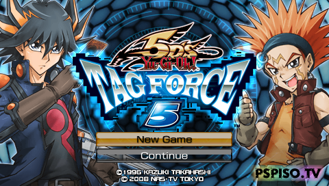 yu-gi-oh 5ds tag force 5 iso